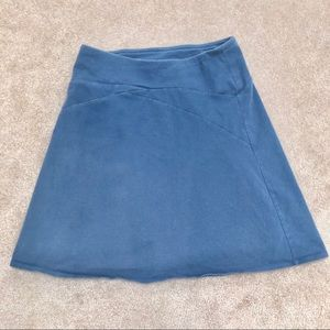 Patagonia organic cotton blue skirt woman's small